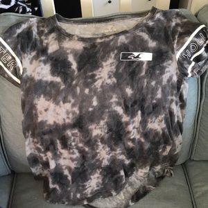 Grey tie dye t shirt
